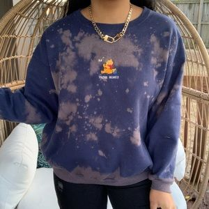 Disney Winnie The Pooh Embroidered Bleached Top